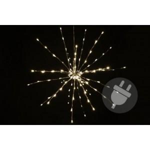 Vánoční LED osvětlení - meteorický déšť - teplá bílá, 20 LED