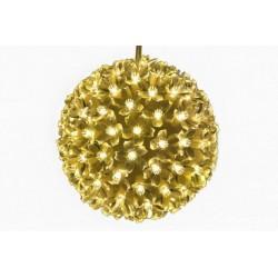 Vánoční dekorace - LED světelná koule, teple bílá
