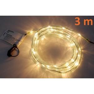 diLED rozšiřitelný světelný kabel - 40 diod, 3 m + TRAFO