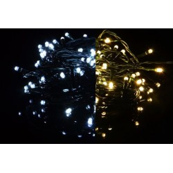 Vánoční světelný řetěz - 3,9 m, 40 LED, 9 blikajících funkcí