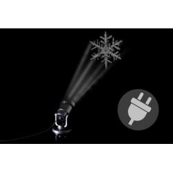 Venkovní LED projektor - sněhová vločka, dosah 3 - 15 m