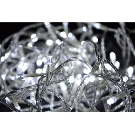 Vánoční LED osvětlení 200 LED - bílé 18 m