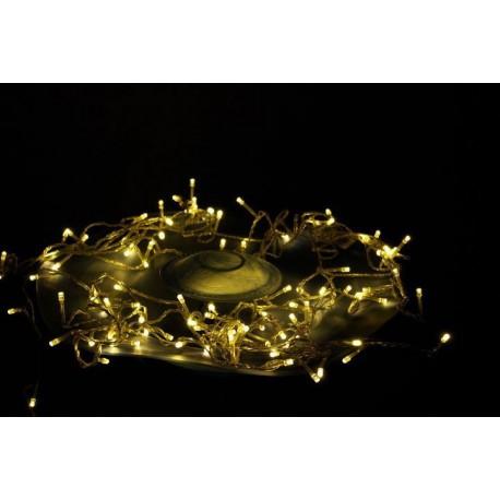 LED osvětlení Garth 200 diod - teple bílé 18 m