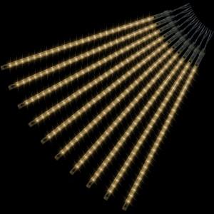 Vánoční LED osvětlení - padající sníh - 480 LED teple bílá