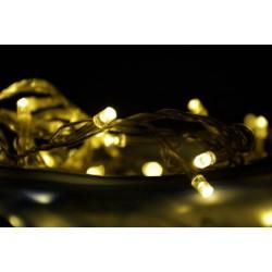 Vánoční LED řetěz s časovačem - 3 m, 30 LED, teple bílý