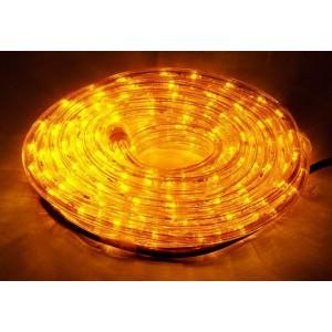 LED osvětlení - žluté, 10 m