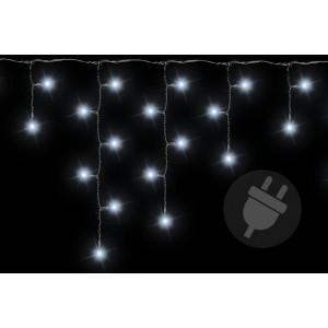 Vánoční světelný déšť 200 LED studená bílá - 4 m