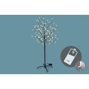 LED vánoční dekorace - Světelný strom - 96 LED 150 cm