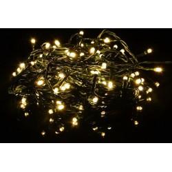 Vánoční LED osvětlení 40 LED - 3,9 m teple bílá + stmívač