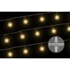 diLED světelný řetěz - 40 LED teple bílá
