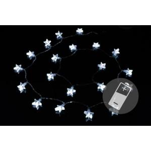 Vánoční osvětlení - hvězda - studené bílé