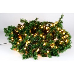Vánoční dekorace - girlanda s osvětlením, 2,7 m, 200 LED