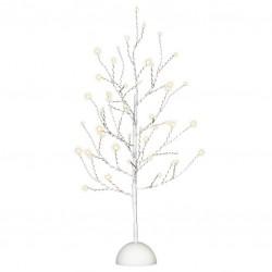 Dekorativní LED světelný strom s 48 LED, 60 cm - bílý