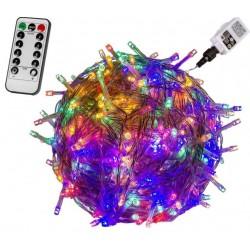 VOLTRONIC Vánoční řetěz - 600 LED, barevný + ovladač
