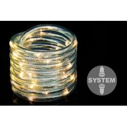 diLED světelný kabel - 40 LED, teple bílý, bez trafa