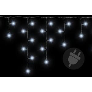 Vánoční světelný déšť - 2,7 m, 72 LED, studeně bílý