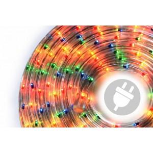 Světelný kabel - 360 minižárovek, 10 m, barevný