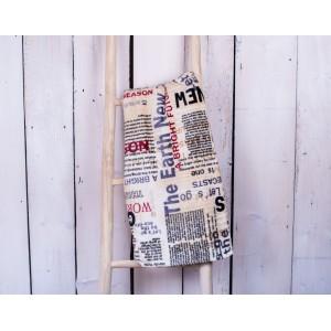 Deka z mikrovlákna 150 x 200 cm - NEWSPAPER