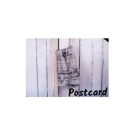 Deka z mikrovlákna 200 x 220 cm, postcard