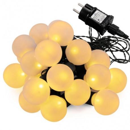 GARTHEN Zahradní párty osvětlení, 20 LED, teple bílá
